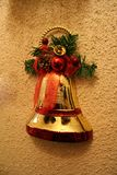 Christmas decorations. For wall - bell Royalty Free Stock Photo