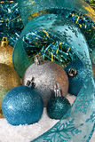 Christmas Decorations. Still life of Christmas decorations Stock Images