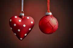 Christmas Decorations. Decoration for the christmas tree Royalty Free Stock Photo