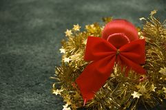 Christmas decorations. Festive Christmas decorations Stock Images