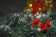 Christmas decorations. Festive Christmas decorations Royalty Free Stock Photos