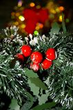 Christmas decorations. Festive Christmas decorations Royalty Free Stock Images