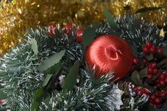Christmas decorations. Festive Christmas decorations Stock Photography