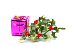 Christmas decorations. Isolated Royalty Free Stock Photo