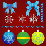 Christmas decorations. Stock Photography