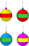 Christmas Decorations. A set of vector illustrations of christmas decorations Vector Illustration