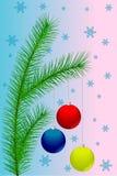 Christmas decorations. royalty free illustration