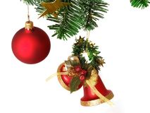 Christmas Decorations. Christmas decorartions Royalty Free Stock Photography