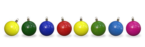 Christmas decorations Royalty Free Stock Photos