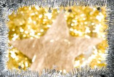 Christmas decorations. With unfocused background Royalty Free Stock Photos