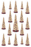 Christmas decorations. Background on white Royalty Free Stock Photo