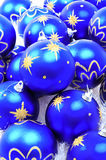 Christmas Decorations. Decorations photographed for Christmas project in a studio setting Royalty Free Stock Image