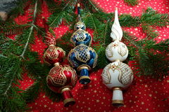 Christmas decorations. Amazing and beatiful Christmas decorations Royalty Free Stock Photos