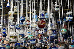 Christmas decorations. Amazing and beatiful Christmas decorations Stock Image