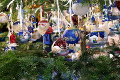 Christmas decorations. Amazing and beatiful Christmas decorations Stock Images