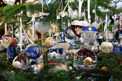 Christmas decorations. Amazing and beatiful Christmas decorations Stock Photo