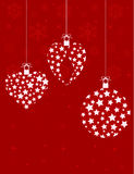 Christmas decorations background Stock Images