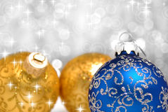 Christmas decorations background Stock Photo