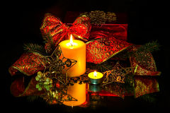 Christmas Decorations background Stock Image