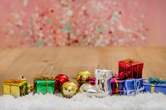 Christmas  with decorations Stock Photography