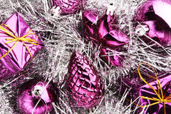 Christmas decorations background Royalty Free Stock Photography