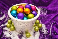 Christmas decorations balls Stock Image