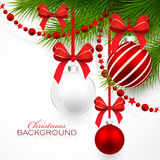 Christmas decorations vector illustration