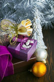 Christmas decorations Royalty Free Stock Images