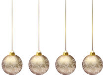 Christmas decorations balls Royalty Free Stock Photo