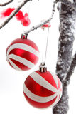 Christmas Decorations baubles Stock Images