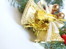 Christmas decorations,bells Stock Images