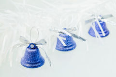 Christmas decorations - bells Royalty Free Stock Photo