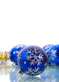 Christmas decorations with blank place for text Stock Photo