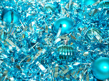 Christmas decorations and chain Royalty Free Stock Photos