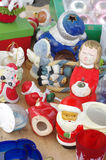 Christmas decorations cherub flea market Royalty Free Stock Photography