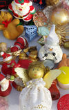 Christmas decorations cherubs Royalty Free Stock Image