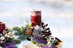 Christmas decorations, Christmas Arrangement Stock Images