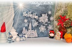 Christmas decorations - Christmas traditions. White XMAS Stock Photography