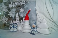 Christmas decorations - Christmas traditions Royalty Free Stock Images