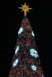 Christmas decorations or christmas tree light prepare for celebrate day, abstract Bokeh light good use for background, christmas Royalty Free Stock Photos