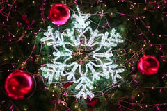 Christmas decorations or christmas tree light prepare for celebrate day, abstract Bokeh light good use for background, christmas Royalty Free Stock Image