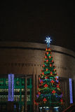 Christmas decorations of the city Royalty Free Stock Images
