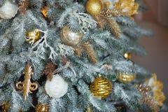 Christmas decorations close up royalty free stock photos