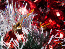 Christmas decorations copy-space Stock Photography