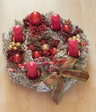 Christmas decorations. Christmas decoration at the time of Advent at Christmas Stock Image