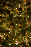 Christmas Decorations. Christmas Decoration on a Christmas Tree Royalty Free Stock Image
