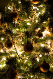 Christmas Decorations. Christmas Decoration on a Christmas Tree Royalty Free Stock Images