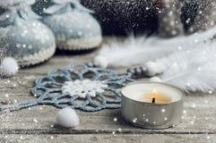 Christmas decorations, dream catcher Stock Images