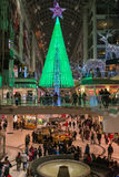Christmas Decorations at Eaton Centre in Toronto Stock Images