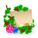 Christmas decorations Royalty Free Stock Photos
